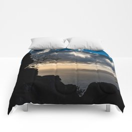 Clouds over the sea Comforters