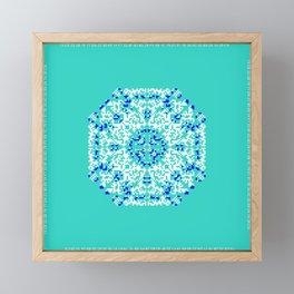 "CA Fantasy ""For Tiffany color"" series #1 Framed Mini Art Print"