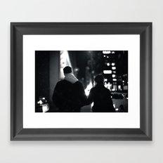 42nd Street Stroll Framed Art Print