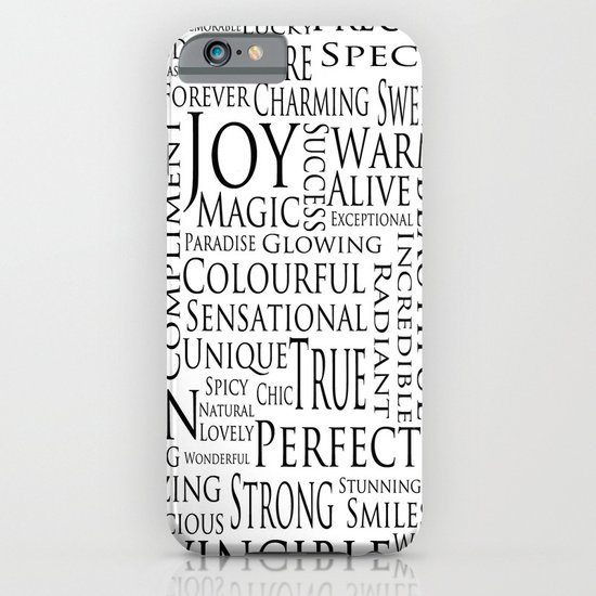 You Are All Of This And More!. iPhone & iPod Case