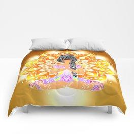 Boho Cultural Girl Comforters