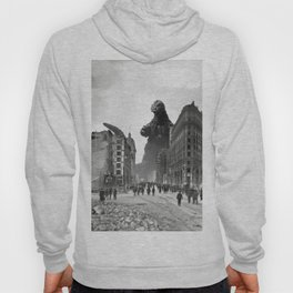 Old Time Godzilla in San Francisco Hoody