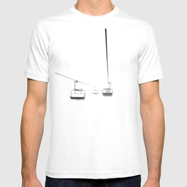 Lifts from and to nowhere T-shirt
