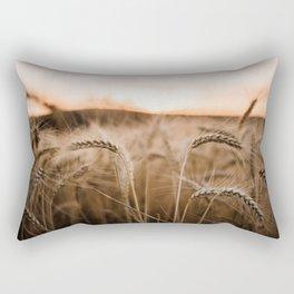 Sunset on the Palouse Rectangular Pillow