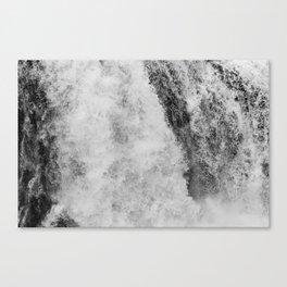 The hidden waterfall Canvas Print