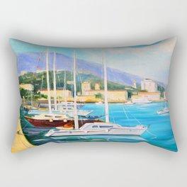 Boat dock Rectangular Pillow
