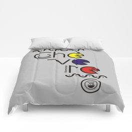 ¡Chévere Tricolor! Comforters