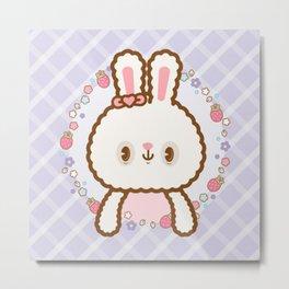 Sweet ウサギ Metal Print