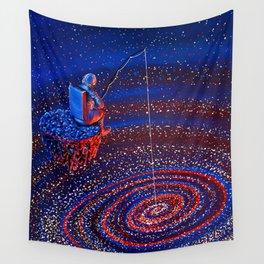 Gone Fishin Wall Tapestry