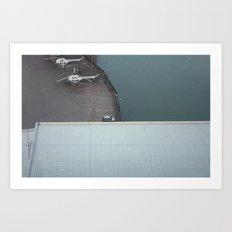 SOLINA LAKE Art Print