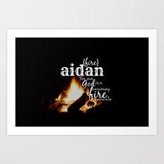 Aidan Art Print