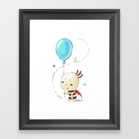 Balloon 2 Framed Art Print