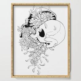 Skull (Pushing Up Daisies) Serving Tray