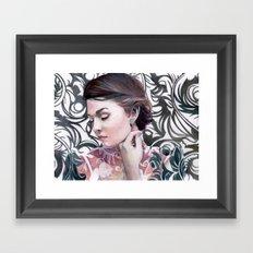 Conspicuous design Framed Art Print