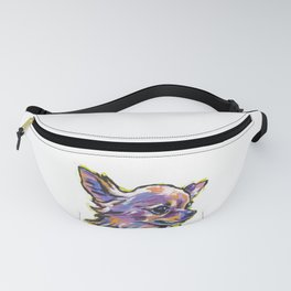 Fun Chihuahua Dog bright colorful Pop Art Fanny Pack