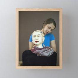 Ana, Sculpture Framed Mini Art Print