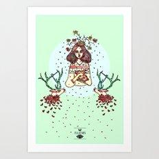 Liana's Art Print