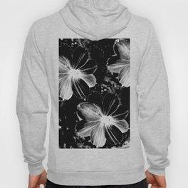Black Flowers Hoody