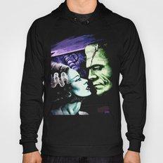 Bride of Frankenstein Monsters in Love Hoody