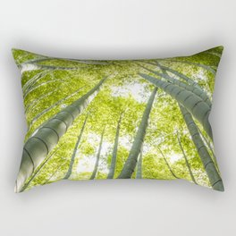 Bamboo forest in Japan Rectangular Pillow