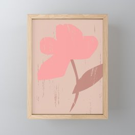 FLOWER I Framed Mini Art Print