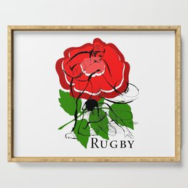 English Rugby by PPereyra Serving Tray