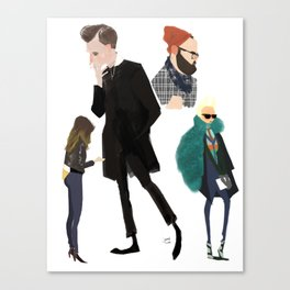 Fashion 2 Canvas Print