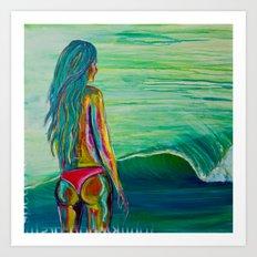 Summer Dayz Art Print