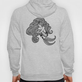 Sweet Shauna Mermaid Drawing  Hoody
