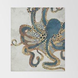 Underwater Dream VI Throw Blanket