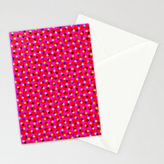 PINK DOT & STAR  Stationery Cards