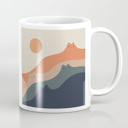 Cat Landscape 90 Coffee Mug