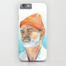 Bill Murray as Steve Zissou Portrait Art iPhone 6s Slim Case