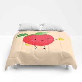 Strawberry cheers Comforters