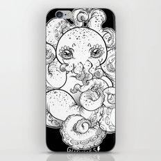 Cthulhu (B&W Version I) iPhone & iPod Skin