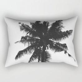 Palm, Tree, Nature, Tropical, Modern, Minimal, Interior, Wall art Rectangular Pillow