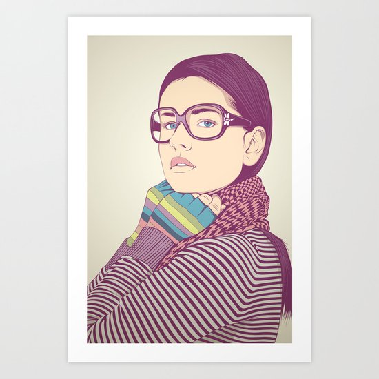 Just know who I am.... Art Print