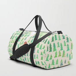 Alone in the woods Duffle Bag