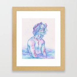 Dead Silence Framed Art Print