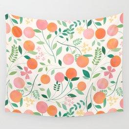 Vanilla Peaches Wall Tapestry