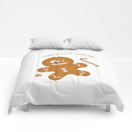 The Gingerbread Man Comforters