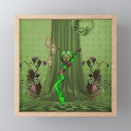 cute fairy Framed Mini Art Print