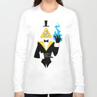 bill cipher Long Sleeve T-shirts featuring Cipher by Palolabg