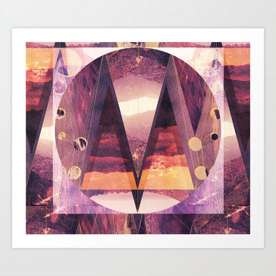 """M"" Art Print"