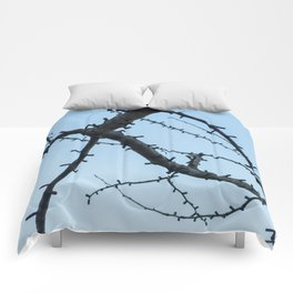 Beautiful Ginkgo Biloba branches Comforters