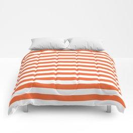 Orange and white university clemson alumni team sports football college Comforters