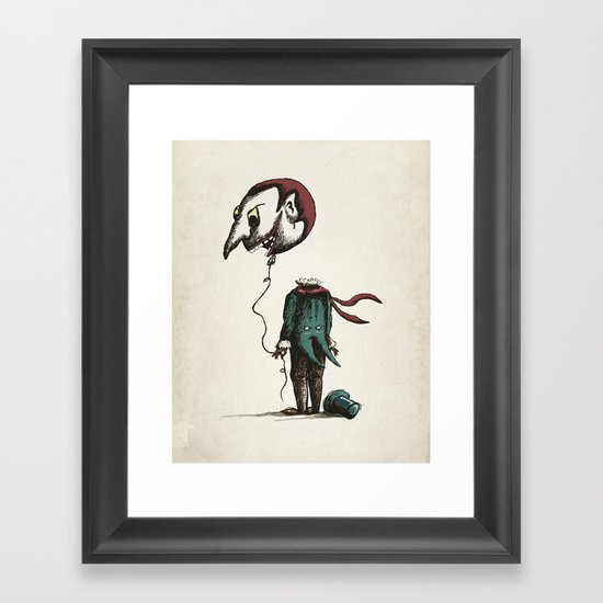 And His Head Swelled with Pride... Framed Art Print