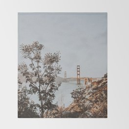 san francisco, california Throw Blanket