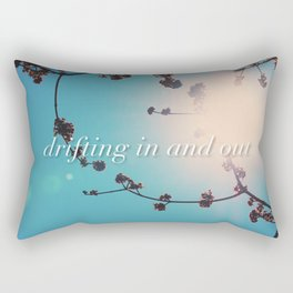 DRIFTING IN AND OUT Rectangular Pillow