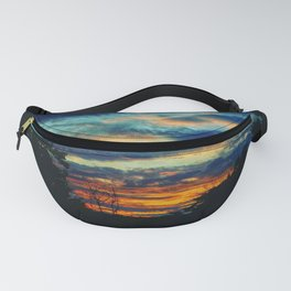 Blue Sunset Fanny Pack